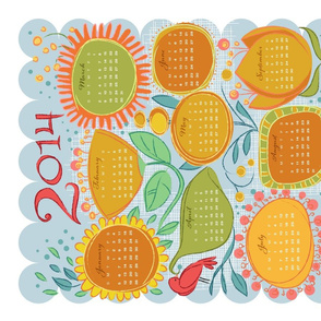 2014_Garden Friends Calendar 2_YlwOrg