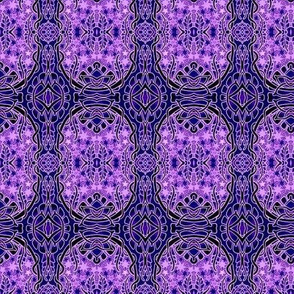 Purple Porthole to the Stars