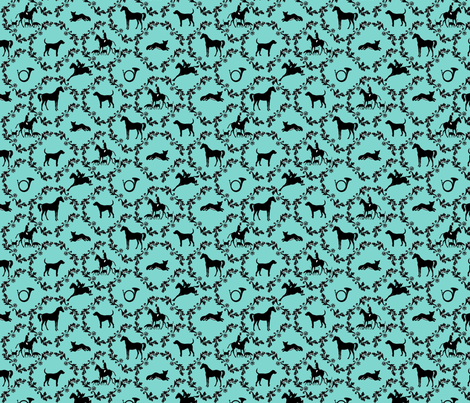 Hunt Country Damask