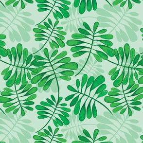 Green garden pattern
