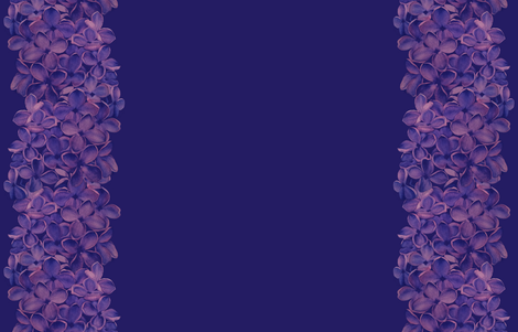Lilac Border fabric by gail_mcneillie on Spoonflower - custom fabric