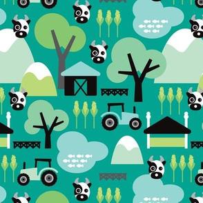 Farmers woodland
