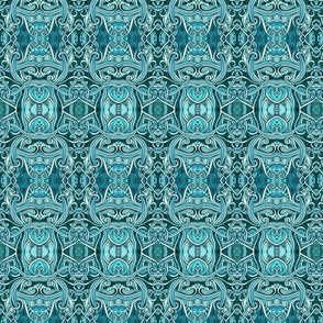 Tangled in Teal