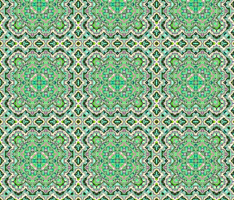Bargello Green