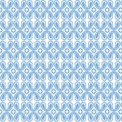 Paisley floral - Blue