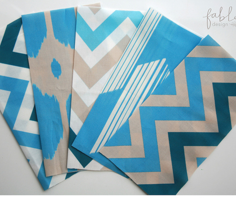 Boho arrows - Blue