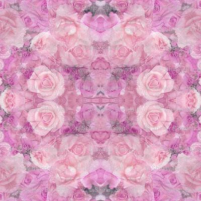 Pink  Paper Roses