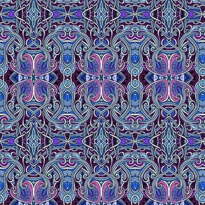 Persian Pink and Blue Slink