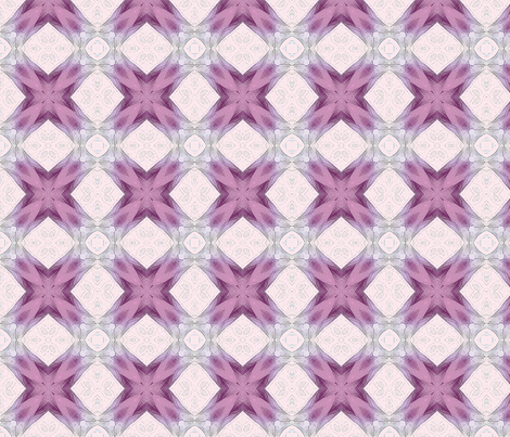 Tessela  pink in layers2 fabric by koalalady on Spoonflower - custom fabric