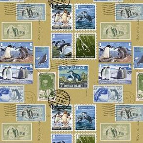 Antarctica Penguin Postage