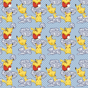 Pikachus and Clouds