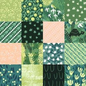 Meadow Spirit Patchwork Squares