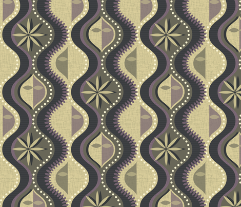 Ghosts in the Machine fabric by celiaforrester on Spoonflower - custom fabric