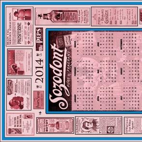 Teatowel Ad Calendar 2014