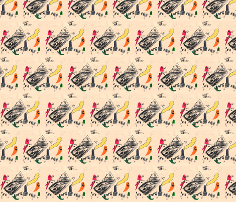 flyinghouse fabric by serenity_ii on Spoonflower - custom fabric