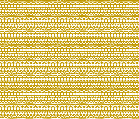 Holidays Mustard fabric by natitys on Spoonflower - custom fabric