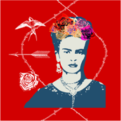 Frida Kahlo (shiraz) CUSHION COVERS