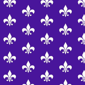 single_fleur_de_lis_purple