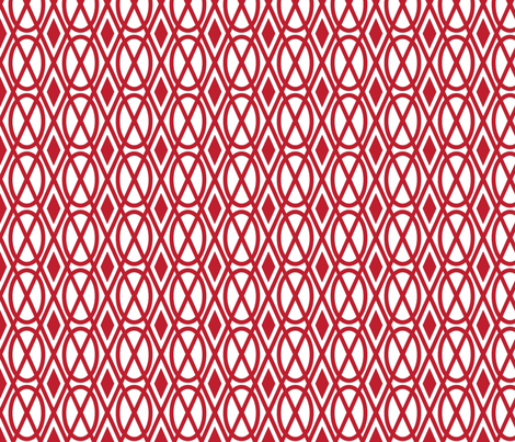 Upholstered geometry fabric by crowlands on Spoonflower - custom fabric