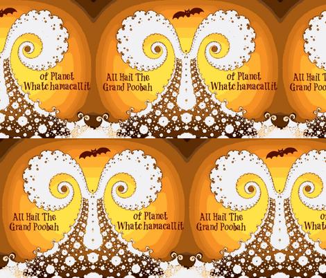 Halloween Grand Poobah's Ghost-large fabric by clotilda_warhammer on Spoonflower - custom fabric