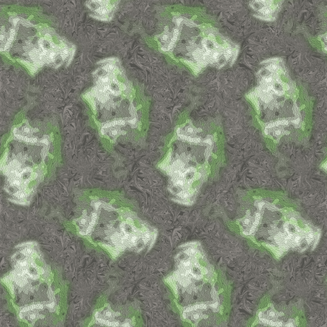 Ghost from The Grotto fabric by inscribed_here on Spoonflower - custom fabric