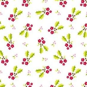 Holly Flower - white