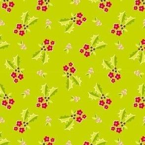 Holly Flower - green