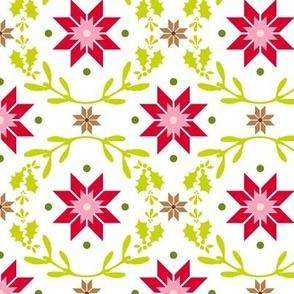 Christmas Star - white