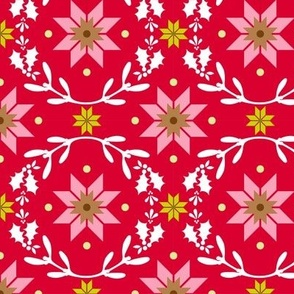 Christmas Star - red