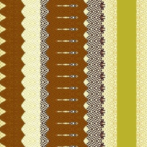 Sepia Stripe 2