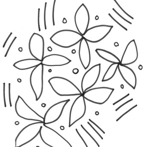 White Lilacs, large