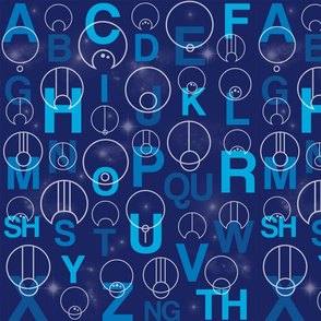 Gallifreyan Alphabet