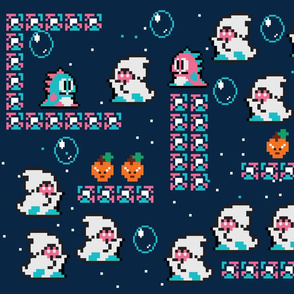 Bubble Bobble ghosts