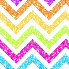 NEW! LG Sparkle chevron glitter stripes MULTI colors