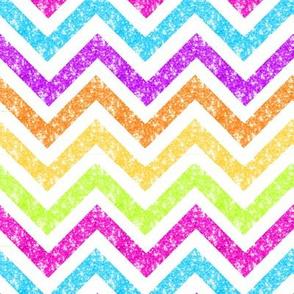 NEW! Med Sparkle chevron Glitter stripes