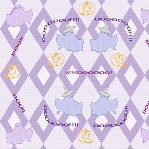 Dancing Ghosts purp diamonds