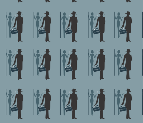filmnoir3 fabric by missgracey on Spoonflower - custom fabric