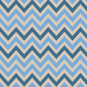 Beach Blue on Sand_ Chevron
