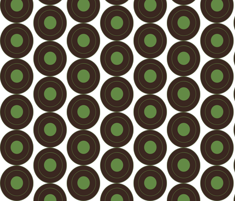 Barista circles fabric by terriaw on Spoonflower - custom fabric