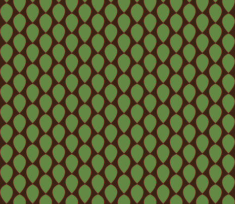 2teardrops fabric by terriaw on Spoonflower - custom fabric