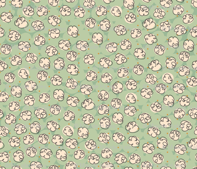 Popcorn-green