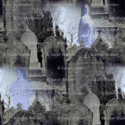 Haworth Graveyard ~ Women Amongst The Dead