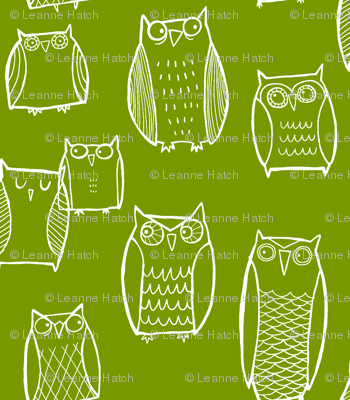 Night Owl green