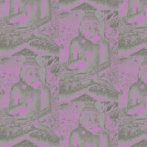 Buddha PINK PURPLE by Gary
