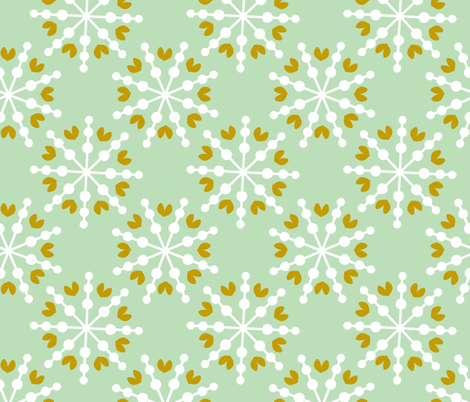 Love Snowflakes fabric by natitys on Spoonflower - custom fabric