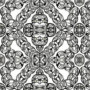 Motley Design - Blk/Wht