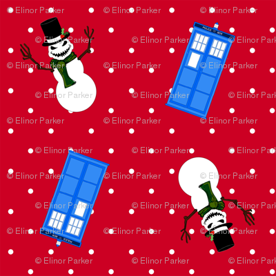 DoctorWho Snowmen