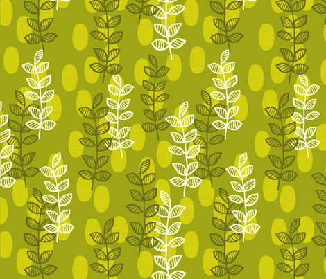 Thyme after thyme fabric by snowflower on Spoonflower - custom fabric