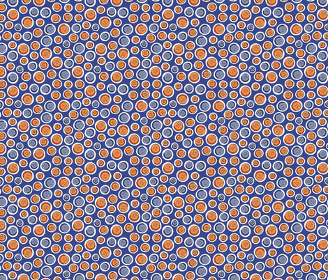 Knöpfe blau fabric by hamburgerliebe on Spoonflower - custom fabric
