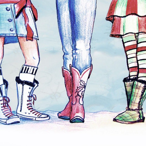 Christmas Snow Boots